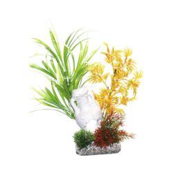 Sydeco Caribean Amphora műnövény 18 cm
