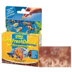 Tetra FreshDelica Brine Shrimps szárított, liofilizált díszhaltáp