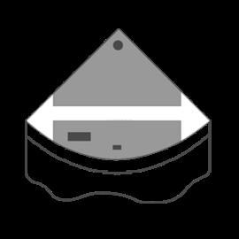 Juwel fedél szett Trigon 190 (2 részes)