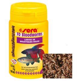 Sera Bloodworms szárított, liofilizált díszhaltáp 100 ml
