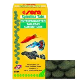 Sera Spirulina Tabs tabletta díszhaltáp 24 tab.