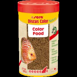 Sera Discus Color Nature granulátum díszhaltáp 250 ml