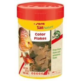 Sera San Nature lemezes díszhaltáp 100 ml